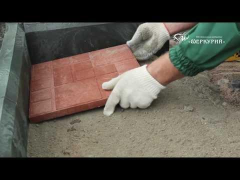 песчано полимерная плитка своими руками