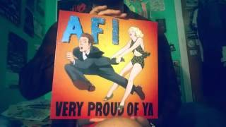 AFI vinyl record collection: Part 1