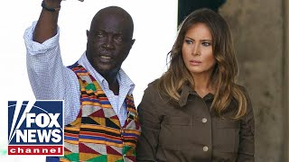 First Lady Melania Trump tours historic sites in Ghana thumbnail