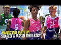 Shareef O'Neal & Tristan Jass IN THEIR BAG at Venice Beach Basketball!! Marcus Bell Playing ANGRY!