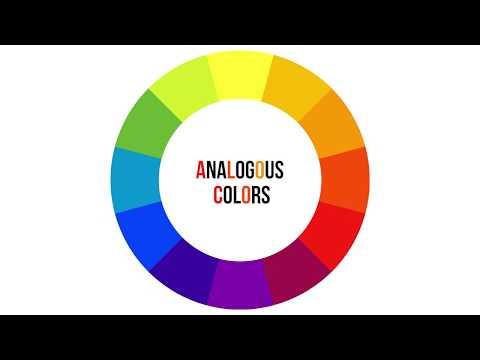 Analogous Colors - Art Vocab Definition