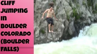 Cliff Jumping In Boulder Colorado (Boulder Falls)