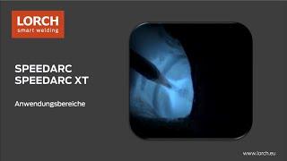 SpeedArcXT Anwendungen Deutsch