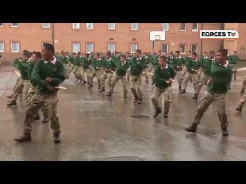 Kukri Training With British Army Gurkha Recruits