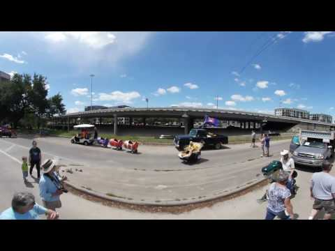 2017 Houston Art Car Parade Staging Area Wakthrough VR 360