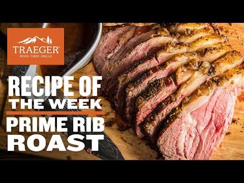 Prime Rib Roast   Traeger Wood Pellet Grills