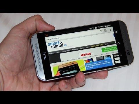 HTC One (M8): Podrobnější videopohled