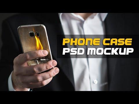 Iphone Case Mockup Psd