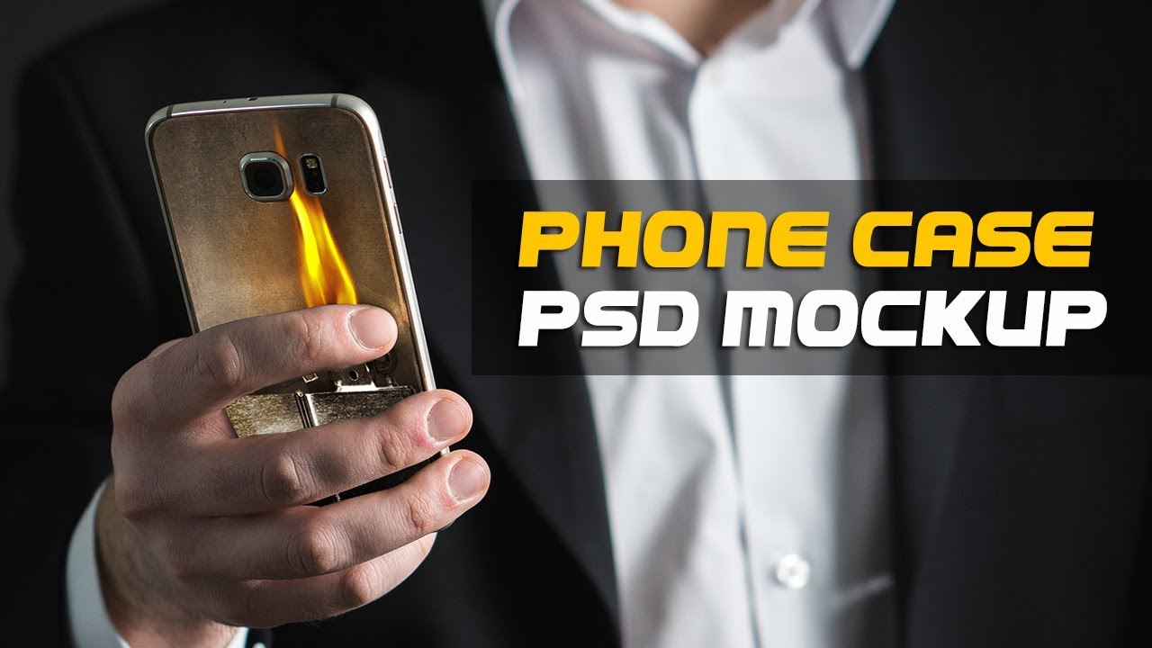 How to Make Phone Case Mockup Using Photoshop in 5 minutes