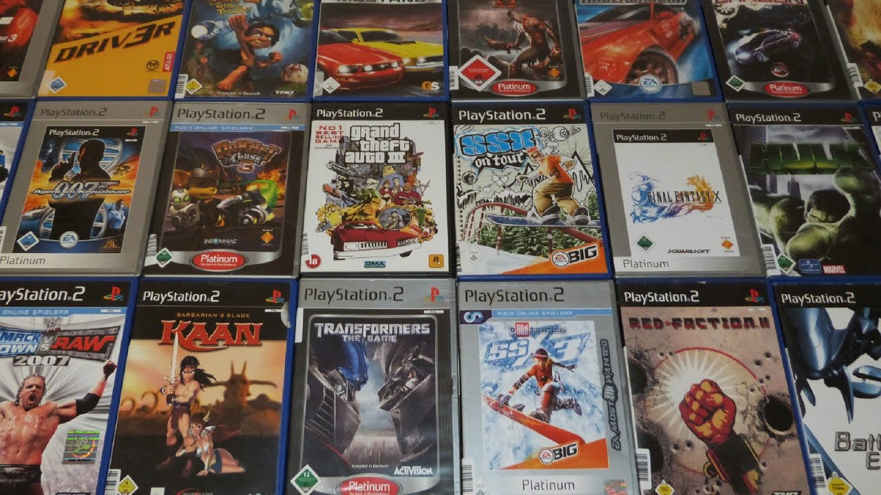 OCG   Omar Unbox   30 PS2 Games  2   YouTube