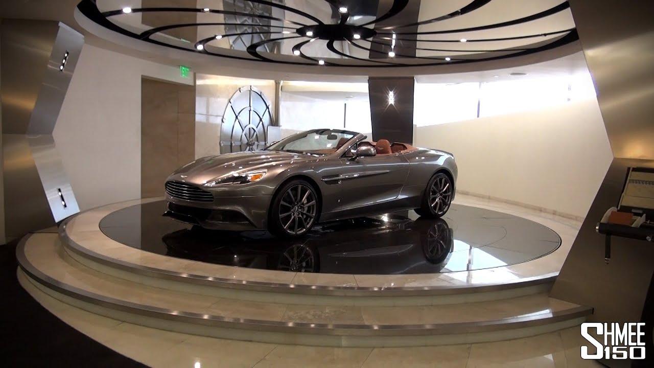 Vanquish Volante And V Vantage S Galpin Aston Martin Vault YouTube - Galpin aston martin