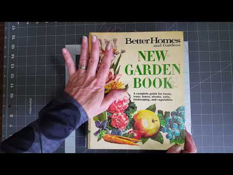 BHG New Garden Book 5 Ring Binder Junk Journal for my Etsy shop *SOLD *