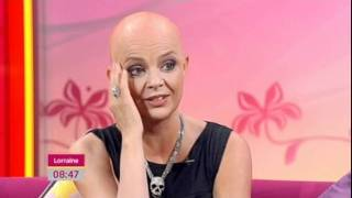 Gail Porter discussing her breakdown on Lorraine - 15th August 2011