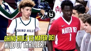 chino hills vs bol bol mater dei overtime thriller wild ending in front of 10 250 people