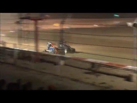 Midgets at Montpelier Motor Speedway - 4/16/16