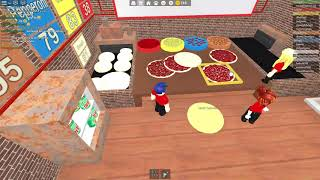 Roblox | Temporada 1 | Episódio 6 | Work na empresa Pizza Place