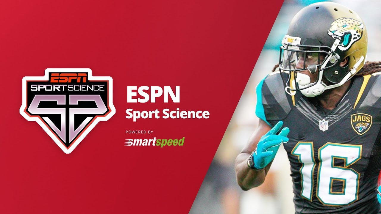 premium selection 0bc3b a9cf3 Sport Science Denard Robinson tested with SMARTSPEED