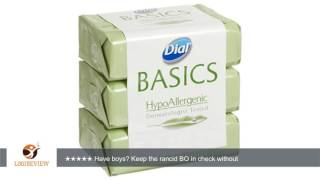 Dial Basics HypoAllergenic Bar Soap 3.2oz, 36 Bars | Review/Test
