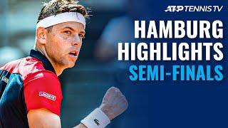 Delbonis vs Carreno Busta; Krajinovic vs Djere   Hamburg 2021 Semi-Final Highlights
