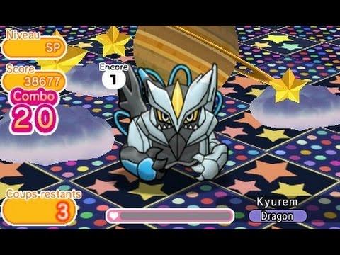 Pokémon Shuffle Cadoizo Fête Et Kyurem Noir Sans Objet