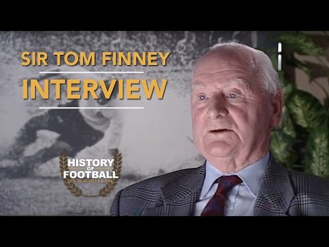 Sir Tom Finney | Interview | History Of Football Interviews