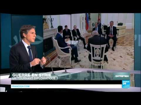 """Blinken: """"Difficile d'imaginer une solution en Syrie sans l'Iran"""""""