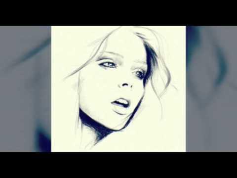 Красивые девушки нарисованные карандашом 31 картинка