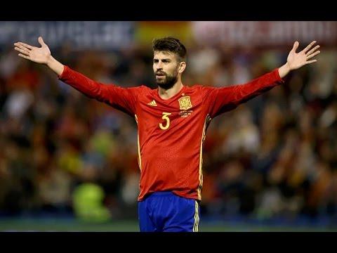 Gerard Pique - Goal Spain cs Czech Republic (HD)