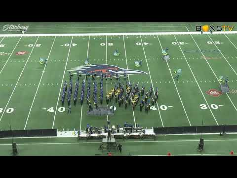 2018 4A State North Lamar Panther Band Finals Performance