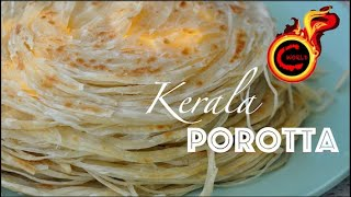 How To Make Soft Layered Kerala Parotta വശയടകകത ലയഴസ ഉളള വളര  സഫററയ പറടടEp:774