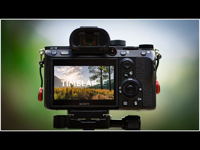 Shooting a Timelapse | Mavis Bank | Sony A7III