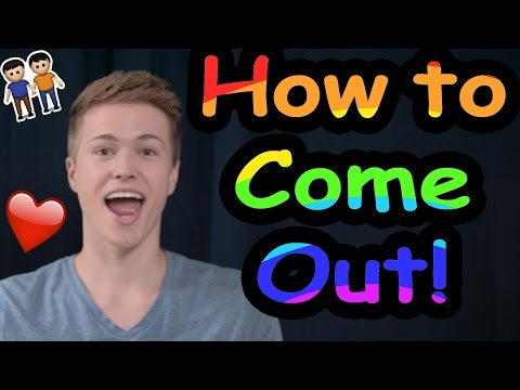 How to Come Out of the Closet!