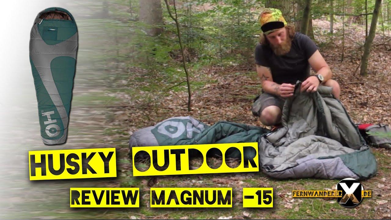 693ee46203 Husky Schlafsack Magnum 15 Review Husky Winterschlafsack - YouTube