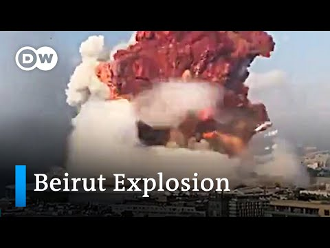 Beirut explosion  Multiangle footage | DW News