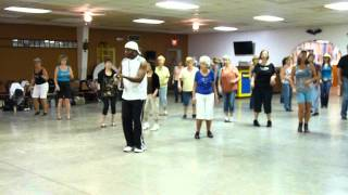 Mississippi Slide line dance, CMDC, 3-24-12