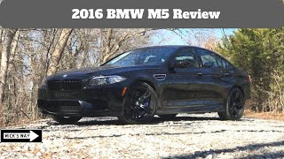 2016 BMW M5 Review | The True Heavyweight