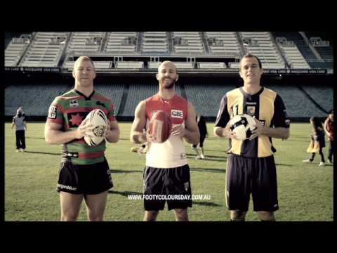 Footy Colours Day 2010 - TVC