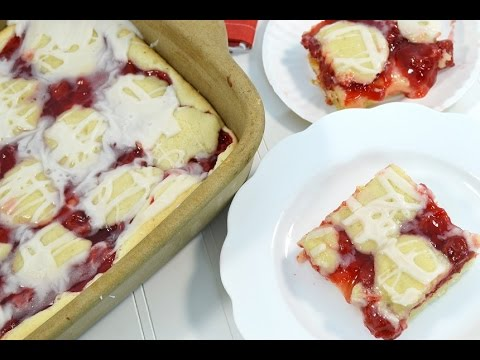 Cherry Bars Recipe - Cherry Pie Filling Dessert | RadaCutlery.com