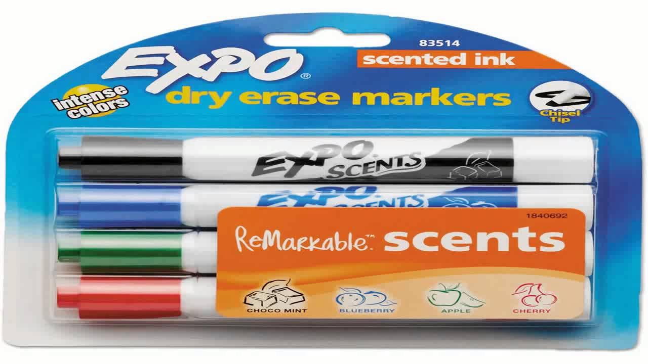 crayola 12 ct washable dry erase markers youtube