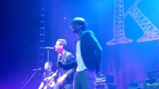Keane - Stop For A Minute (live feat. K'naan) - Roundhouse, Camden, London, 15 June 2010