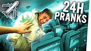 7 PRANKS an EINEM TAG! :D (Flugzeug-Edition) 😄