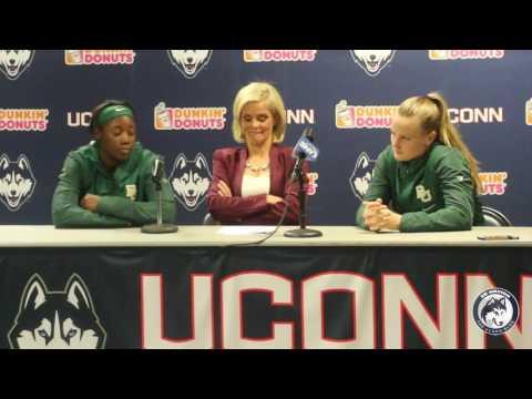 Baylor Women's Basketball Postgame - UConn