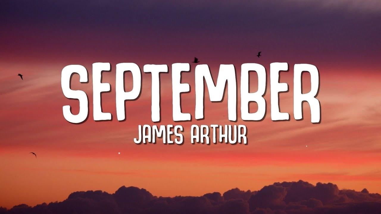 Download James Arthur - September (Lyrics)