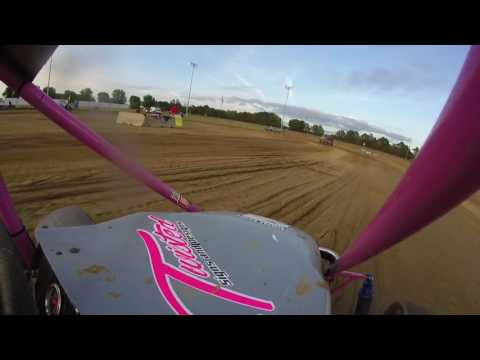 5.27.16 Clay County Speedway - Miniakota Micro Sprints - Heat 2