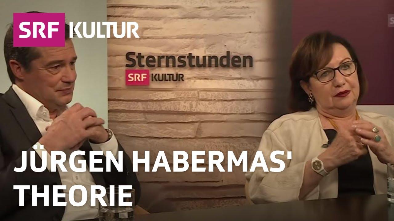 Gesprachsrunde Uber Die Theorien Von Jurgen Habermas Sternstunde Philosophie Srf Kultur Youtube