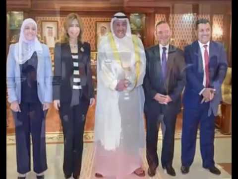 الشيخ فيصل الحمود استقبل الأميرة غيداء