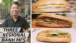 How Vietnam's Banh Mi Sandwich Changes from the North to South — Regions