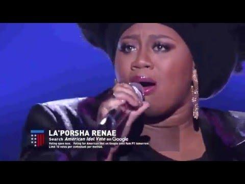 LaPorsha Renae  No More Drama  American Idol