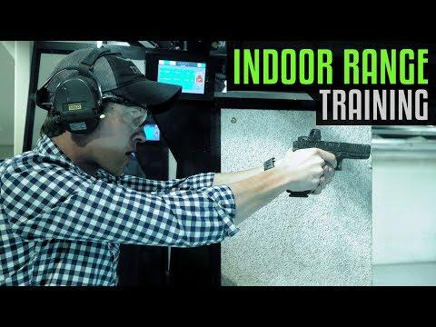 How To Train In An Indoor Range - Handgun