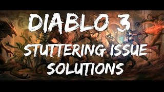 Diablo 3] Stuttering Issue Solutions: Ramdisk / Flash Drives